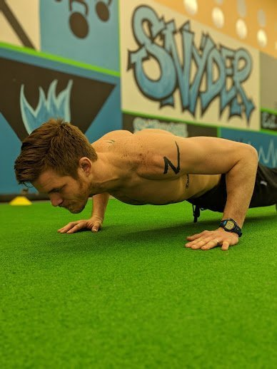 Do your push-ups everyday - Snyder Strength & Conditioning